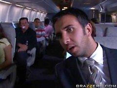 passagers ayant quickie dans un avion