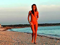 Bikini Muchacha en las playa
