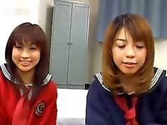 Japanse FFM trio in hotel huis