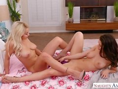 Kylie Page Lana Rhoades Easter Threesome