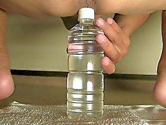 Abgefickt u gaffen mit Plastikflasche Aug- 08 bis 2014