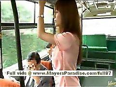 Miho Maeshima ragazza Cina riceve una carico di sperma gli occhiali