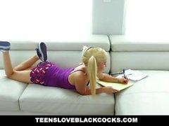TeensLoveBlackCocks - Piper Perri förstörde BBC