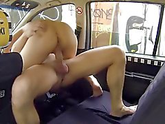 Czech Taxi - Blonde Teen gets ride of her LIFE