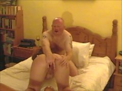 British Ex-GF MILF Gaping and Squirting