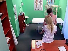 Mütter Krankenpflegerin Fick Teen Patienten