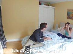 NannySpy Raspy geäußert Abella Gefahr nach beim Stehlen erwischt gefickt