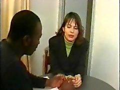 Frans anaal vrouw geneukt door BBC
