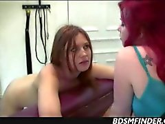 Milf Versus Teen Lesbian Discipline