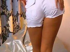 Eva Lovia in socks