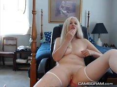 Горячие Naughty Blobde Camgirl Hottie Amazing Cam Show