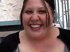 Big tittied femme joufflu est vraiment super blowjob