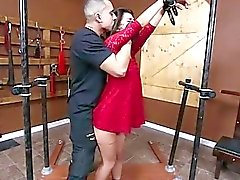 Cute Gina de Valentina a dominé et baise