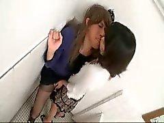 JAP shemale och tjej