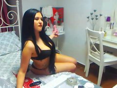Webcam fun mature brunette with toys cum on cam