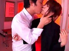 Nette haarige Pussy Asiatin Masturbation