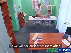 FakeHospital Kısa saçlı hottie doktorunuza baştan