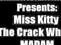 Yüksek sınıf ters ilişki loving bir çatlak bir fahişe Bayan Kitty tüm anlatır