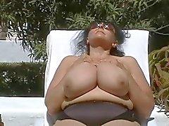 Saksan BBW - mummon Huge - Boobs Outdoors