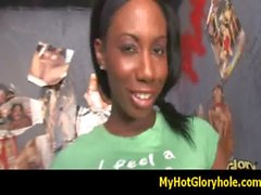 myhotgloryhole - Interracial cock gloryhole sucking - video 29