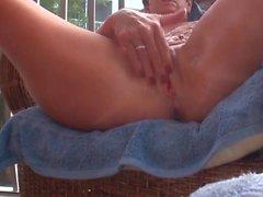 Masturbieren auf meinem Deck Teil 1 Pre-Orgasmus