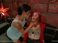 TS Foxxy Dominates Popstar Diva