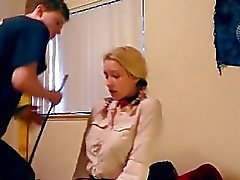 Réel dur et rugueux avec esclave Nicole