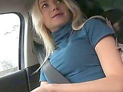 Viktoria Puppy hitch Wanderungen und im Inneren Fremde Wagen schlug