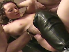 Deutsch MILF in Real Amateur Creampie Gangbang Bukkake