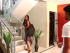 Desi intialainen Gf Comes Lover Home for seksivideoita Mm