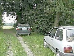 Velues les conducteurs fuck rond Milf Policière de la route