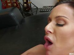 Kendra Lust filled with a huge black cock
