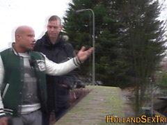 Реальный нидерландский проститутка стучал
