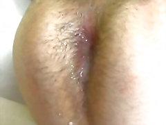 Caribbean Homosexuell Hardcore anales Geschlecht Lecken mit Ficksahne In The Ass