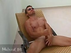 les bains de soleil et de masturber