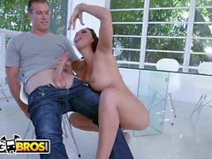 BANGBROS - Sean Lawless and J-Mac Arm Wrestle For Rachel Starr