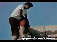Classic Gay Athletes Get Spanked