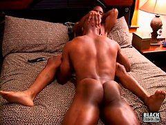 His big black muscle cock won't say no to a mouth to feed