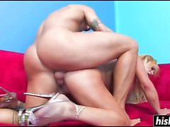 Shyla Stylez likes to ride his cock