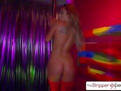 The Stripper Experience - Gianna Nicole es follada por una gran polla, un gran botín