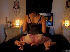 Asiento pies masajes a la cara
