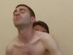 Chaud Homme Couple Sucer assfucking et Felching