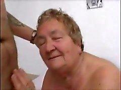 Italienisch Granny gefickt
