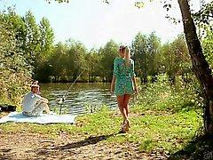 Weibchen Simons die Fischerei und den verdammtes
