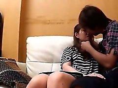 Schön hornig Korean Mädchen verdammtes