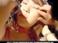 Gruppen-Sex mit schmierigen Hikaru Hinata