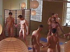 Hot Обнаженные Yoga Male