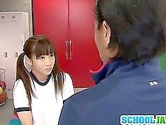 Kilit Odası Yuri Shinomiya kız öğrenci kedi Fucked