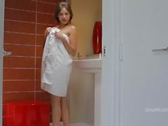 Banyo Mastürbasyon sonra Shyla Jennings Solo