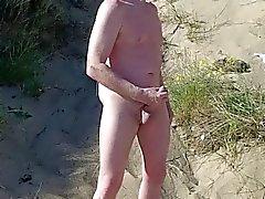 exhibitionist skotsk visning på strand